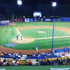 April 2016 - Opening Day at Cashman Field, the home of the Las Vegas of the AAA Pacific Coast League. Major League Baseball Teams, Baseball Field, Lush Green, Green Grass, Ny Mets, April 7, Opening Day, Pacific Coast, A Team