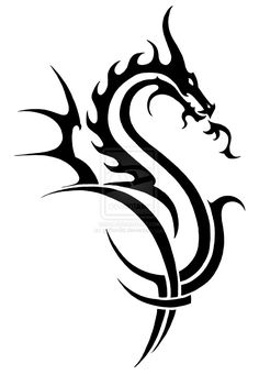 Risultati immagini per dragon art tattoo Dragon Tattoo Arm, Tribal Dragon Tattoos, Celtic Dragon Tattoos, Small Dragon Tattoos, Dragon Tattoo Designs, Elk Silhouette, Dragon Silhouette, Celtic Tribal, Celtic Art
