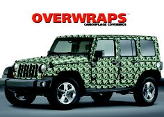 Overwraps - O Series Camouflage Vinyl - Digital Military Green 2