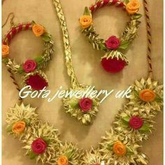 Gota Patti Jewellery, Marriage Jewellery, Jewelry Crafts, Handmade Jewelry, Silk Bangles, Bridal Chura, Flower Ornaments, Indian Wedding Jewelry, India Jewelry