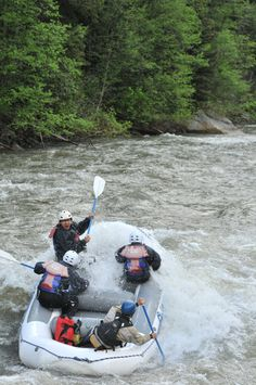 Rafting and Zipline Adventures in Big Sky, Montana