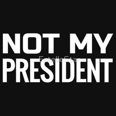 Women/'s Not My President AF Shirts T shirts Tops  Political Protest Top