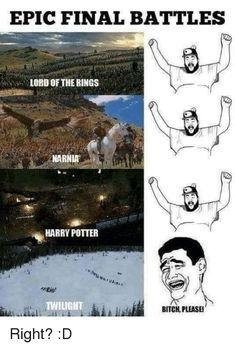 Memes finals 36 Harry Potter Vs Lord of The Rings Memes That M 36 Harry Potter gegen Herr der Ringe Meme That M Harry Potter Quiz, Twilight Harry Potter, Humour Harry Potter, Images Harry Potter, Harry Potter Couples, Twilight Hate, Memes Spongebob, Rage Comic, O Hobbit