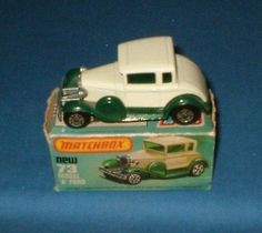 1979 MATCHBOX LESNEY 1-75 MODEL A FORD No 73 BOXED TOY CAR MADE IN ENGLAND - http://www.matchbox-lesney.com/26132