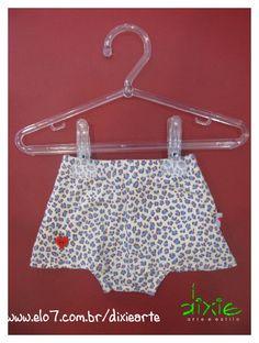 Saia Infantil Onçinha com calçinha  Disponivel para recém nascidas R$39,00