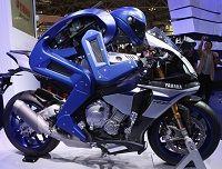 Motobot le motard robotique humanoïde de Yamaha   Yamaha a dévoilé au salon de l'auto et de  ...