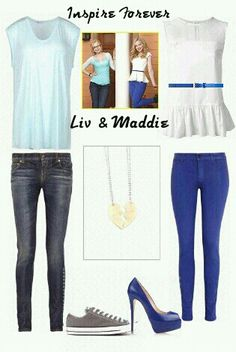 Inspire Forever: Liv & Maddie; Disney. BFF Collection