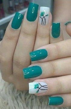 #nail #nailart #nailidea #nailinspiration #naildesign #nagel #nageldekoration #chiodo #clou #uña Polygel Nails, Cute Nails, Pretty Nails, Hair And Nails, Nail Designs Spring, Cool Nail Designs, Perfect Nails, Gorgeous Nails, Spring Nails