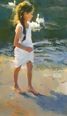 """Nancy Seamons Crookston :""""Dream Keeper""""    Oil painter Nancy Seamons Crookston is a multi award winning painter who has been recognized by her peers and national magazines."""