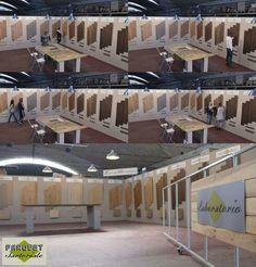 Show room parquet sartoriale per la vendita diretta di pavimenti in legno