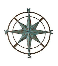 LivingQuarters Lake Iron Wall Compass