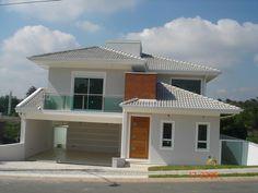 fachada de casa com pergolado - Pesquisa Google