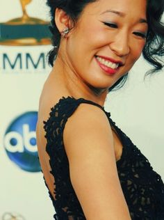 Day 9- Favourite actress, Sandra Oh! Like I said with the last one, watching some scenes with her in it feels like I'm watching someones own life, and (Pun coming up get readdy for it) she is Oh so pretty! ( HA cause her name)