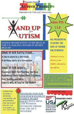 Stand Up for Autism June 9th