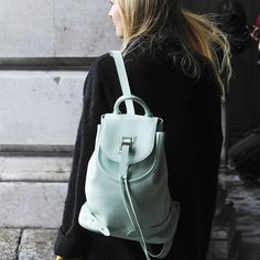 Mochila Mint Green #mintgreen #mochila #backpack
