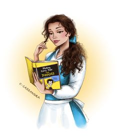 Belle with curls ♡ | C-Cassandra