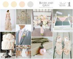 Blush and Grey Wedding Inspiration @ Blush Wedding BlogBlush Wedding Blog