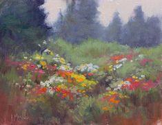 Rain Flowers - The Art and Fine Art Tips with Lori McNee