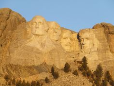 Visit Mount Rushmore for a great family activity.