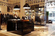 Scotch and Soda, instore/counter, pinned by Ton van der Veer