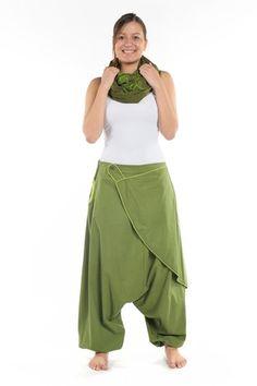 Härlig grön haremsbyxa. We love!