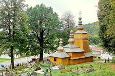 Slovakia, Hunkovce - Wooden church