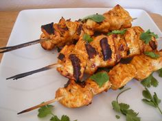 CHICKEN TIKKA [Boneless thigh fillets prepared with yoghurt & spices and cooked in tandoor] @Nawab Sahab Restaurant