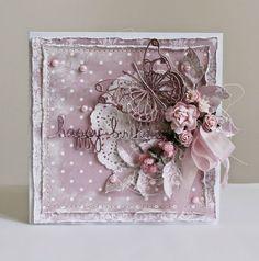 Flower Paradise -                                         Цветочный рай: Cardabilities 114 или День рождения в розовом