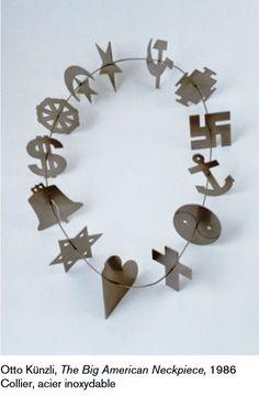 Otto Kunzli - the big american neckpiece 1986