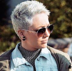 short women's haircut More