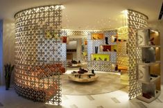 Gorgeous Louis Vuitton flagship store interior design by Peter Marino #decoratingideas #interiorarchitecture #ad100 More inspiration at http://www.brabbu.com/en/inspiration-and-ideas/interior-design/2016-100-list-peter-marino-decoration-ideas