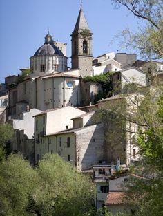 View of Cocullo, province of L'Aquila  Abruzzi, Italy