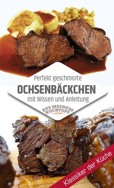 Le plus récent Photos slow cooker Barbacoa Idées, Perfekt geschmorte Ochsenbäckchen. Egal ob Ochsenbacke, Kalbsbäckchen oder Rinderbäckchen: So machen Sie perfekt geschmorte Ochsenbäckchen. Pot Roast Recipes, Slow Cooker Recipes, Beef Recipes, Dinner Recipes, Drink Recipes, Slow Cooker Roast, Slow Cooker Chicken, Pizza Hut, Balsamic Pot Roast