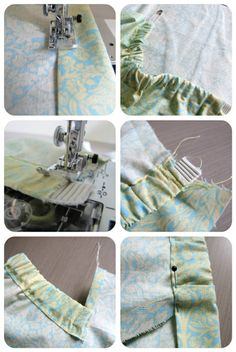 The Haby Goddess: Tutorial: Elastic waistband with flat front