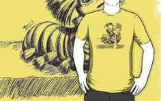 I found 'Labyrinth - The Worm T-Shirt by Alexandre Bonneau' on Wish, check it out!