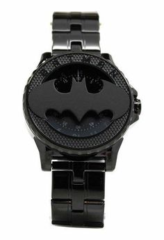Batman 75th Year Limited Edition Rotator Mens Stealth Watch (Bat5112) Im Batman, Batman Comics, Dc Comics, Batman Stuff, Gifts Fir Boyfriend, Batman History, Batman Jewelry, Avengers Bedroom, Batman Gifts