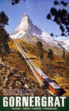 Matterhorn Cervin Valais Gornegrat Zermatt