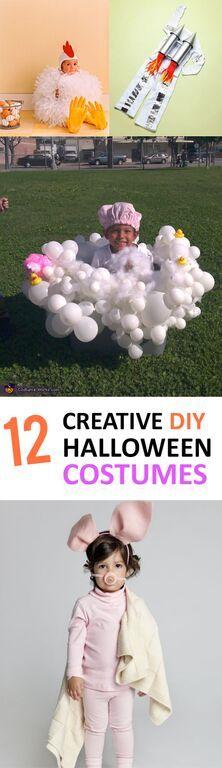 12 Creative DIY Halloween Costumes