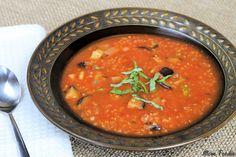 Ratatouille Quinoa Soup Recipe: A Quick Nourishing Soup Under 100 Calories