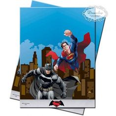 [Batman Birthday Party] Plastic Batman vs Superman Tablecloth, x by Unique Party -- Check this awesome product by going to the link at the image. (This is an affiliate link) Superman Birthday Party, Birthday Cup, Superhero Party, Birthday Ideas, Batman Vs Superman, Spiderman, Superman Party Supplies, Kids Party Supplies, Party Bags