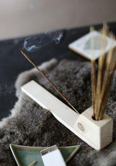 11 Stylish Ways to Burn Incense via Brit + Co