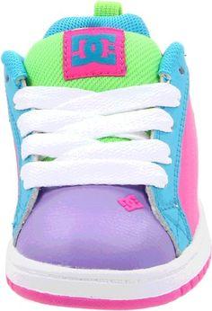 Sherpa inside Infant DC Shoe Hightop Babies Crib shoe