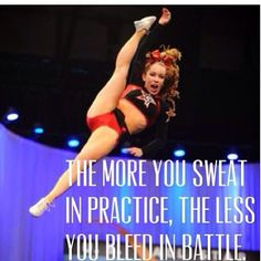 Cheerleading. Inspirational quote. just becuz the bestie send it to me <3 <3 <3