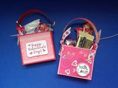 Valentine Treat Holders