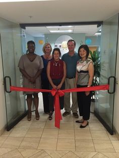 The Harris School Of Business Held A Ribbon-Cutting Ceremony In Cherry Hill To Unveil Their Improved Suite Of Classrooms And Laboratories #School #Education #Business