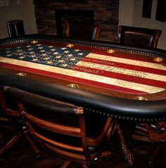Custom Casino Game Layout professional quality at discounted prices. We custom print Texas Hold 'Em Bonus Poker layouts with your design or logo. Emmanuelle Alt, Dinners For Kids, Dinner Recipes For Kids, Poker Table Felt, Poker Table Diy, Custom Poker Tables, Las Vegas, Casino Table, Diy Table