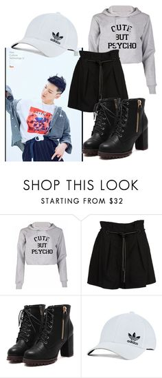 """Hanging Out with Ten(NCT)"" by sasha-asher50 ❤ liked on Polyvore featuring 3.1 Phillip Lim and adidas Originals"