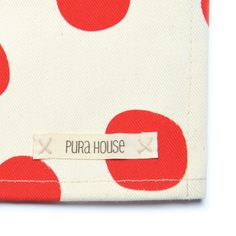 Pack x 2 individuales BIG DOTS ROJO: http://www.purahouse.com/individuales/pack-x-2-individuales-big-dots/
