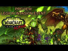 World of Warcraft: Legion Alpha - Burning Legion Invasion World Event Preview - YouTube
