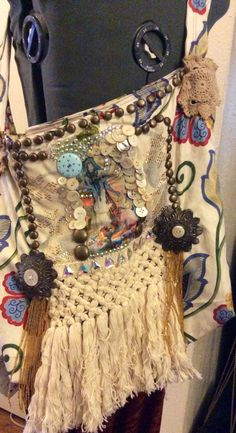 Mucha and Assuit bellydance yoga purse